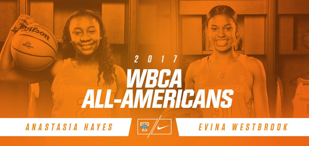 Congrats to @AnastasiaHaye12 & @evinawestbrook on their WBCA honors: https://t.co/C5mMUEAkcn https://t.co/69ddVl0ixy
