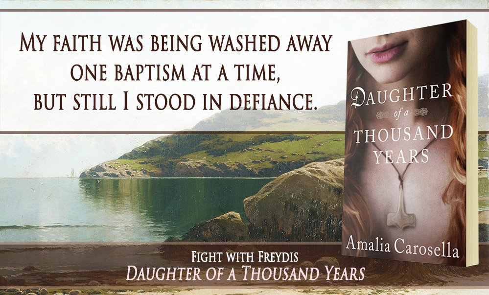 And if you think ANY of that is interesting, grab DAUGHTER OF A THOUSAND YEARS and give it a read! https://t.co/sbwYsit1IS #Vikings #histfic https://t.co/1NW70DLwMG