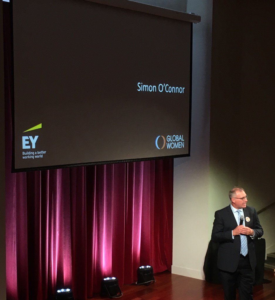 """Gender equality matters to me & to EY"" Simon O'Connor EY supporting equality in pay & representation @NZGlobalWomen https://t.co/NGVE6RPWKo"