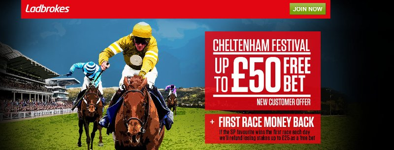Ladbrokes horse racing betting bonus