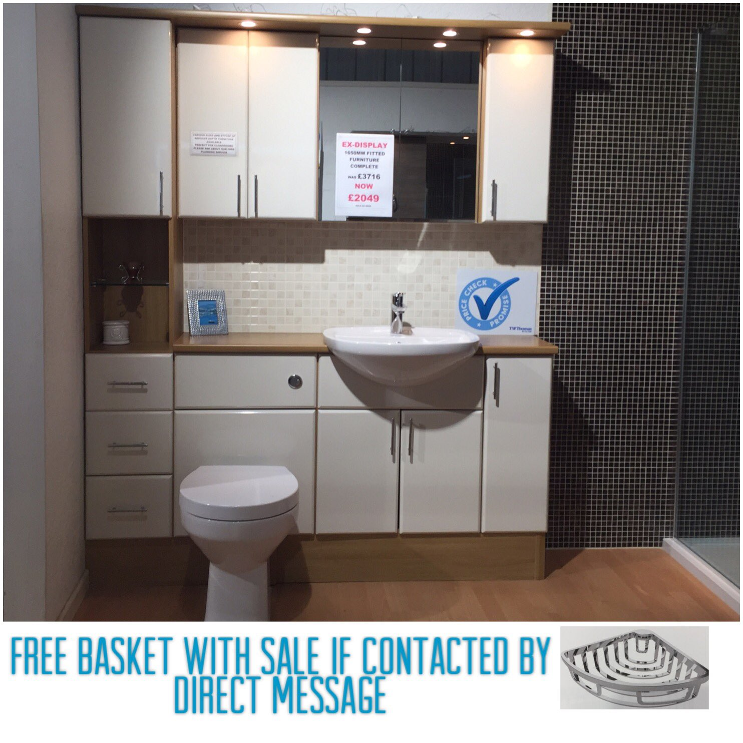 """TW THOMAS BATHROOMS on Twitter: """"First ex display offer - utopia"""