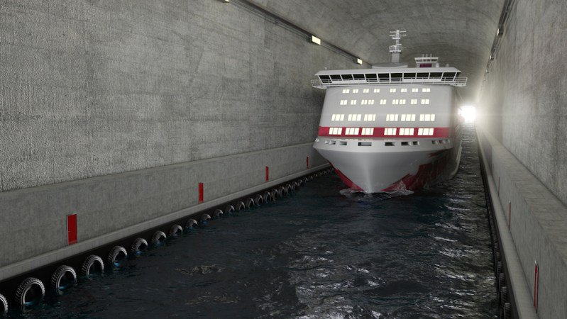 World's First Ship Tunnel to Bypass Dangerous Seas in Norway https://t.co/6abkjvlzb7 https://t.co/m1uWEjqMub