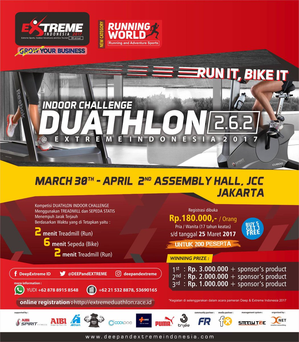 Duathlon Indoor Challenge • 2017