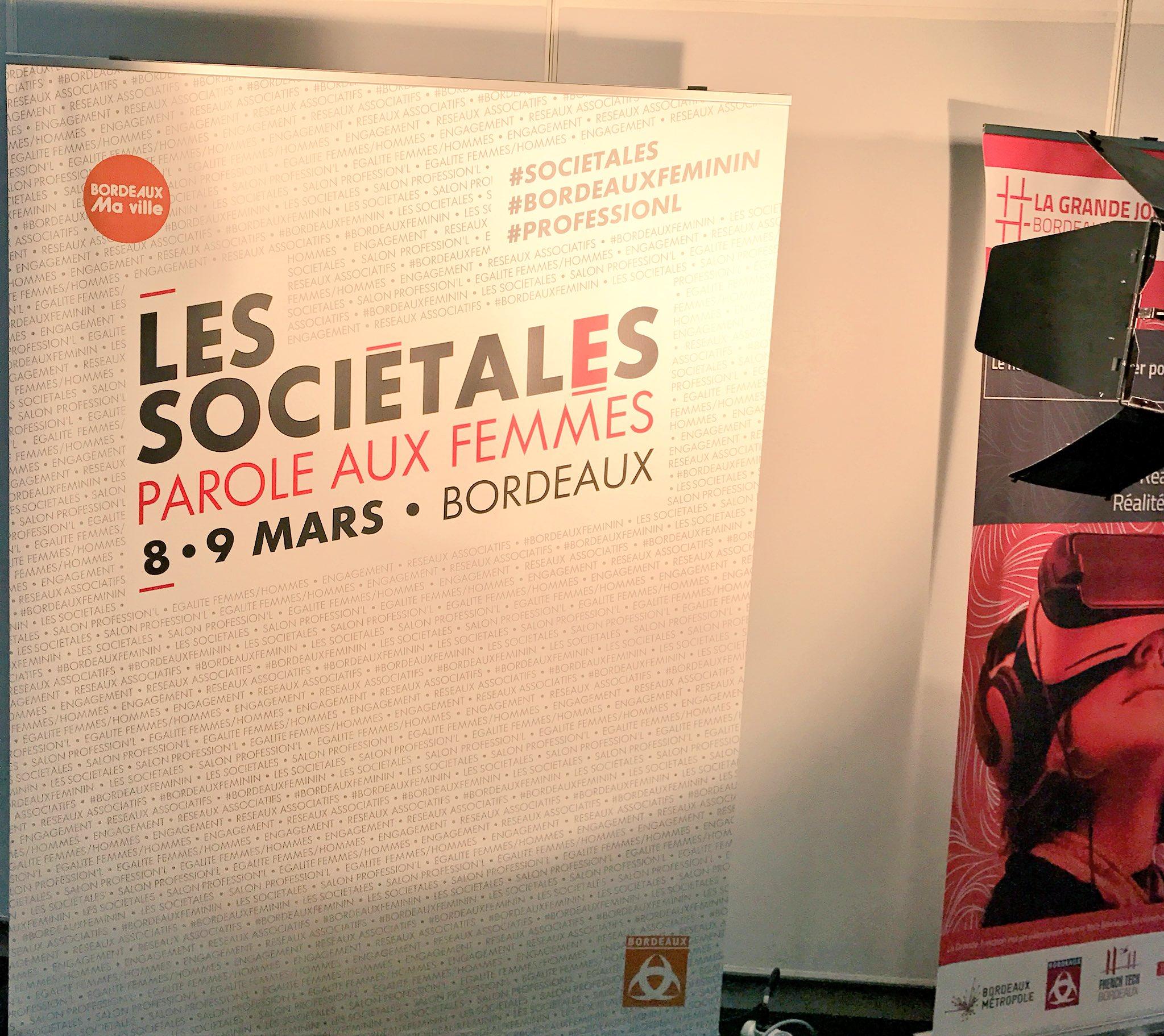 Thumbnail for Les sociétales à Bordeaux...