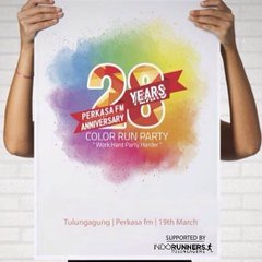 Colour Run Party – Perkasa FM • 2017