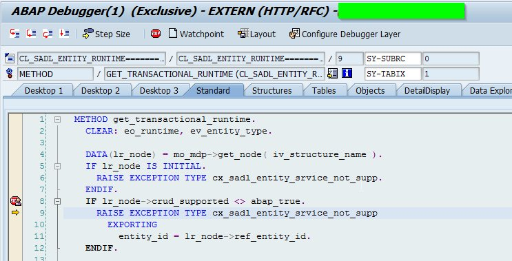 SAP Developers On Twitter How To Generate OData Services By - Sap data mapping