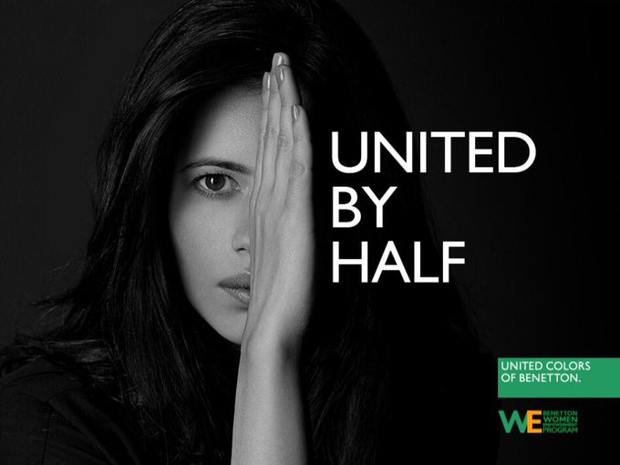 Today isn't about treating us better but treating us as equals. With @benetton_india make a Pledge for Half at https://t.co/TOG7JMYA06 https://t.co/5Uh7X4k2JQ