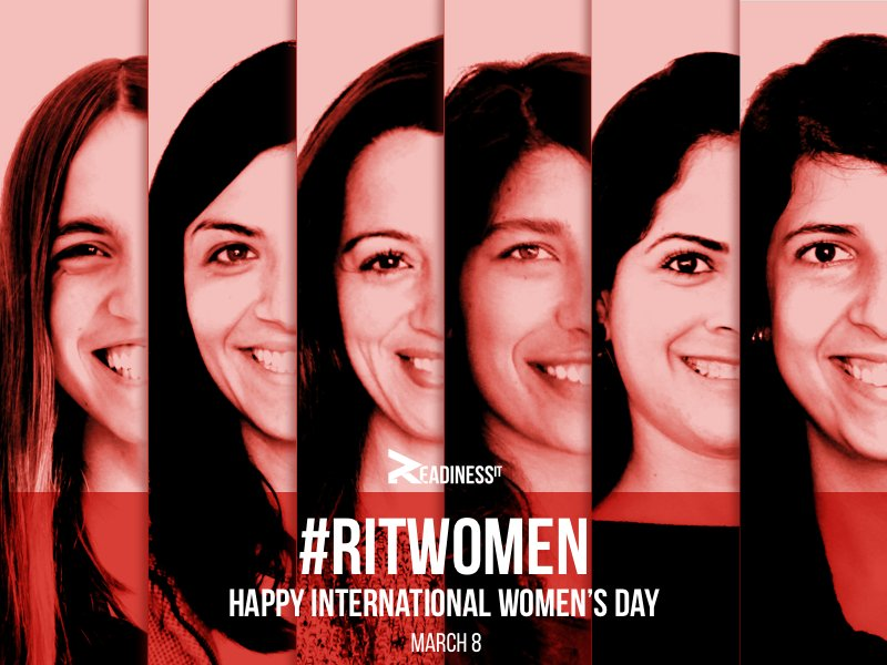 Happy Women's Day to all #ritwomen who emphasize our #ritattitude: together we are empowering professionals that change the world around us! https://t.co/fIX1dzYBQj
