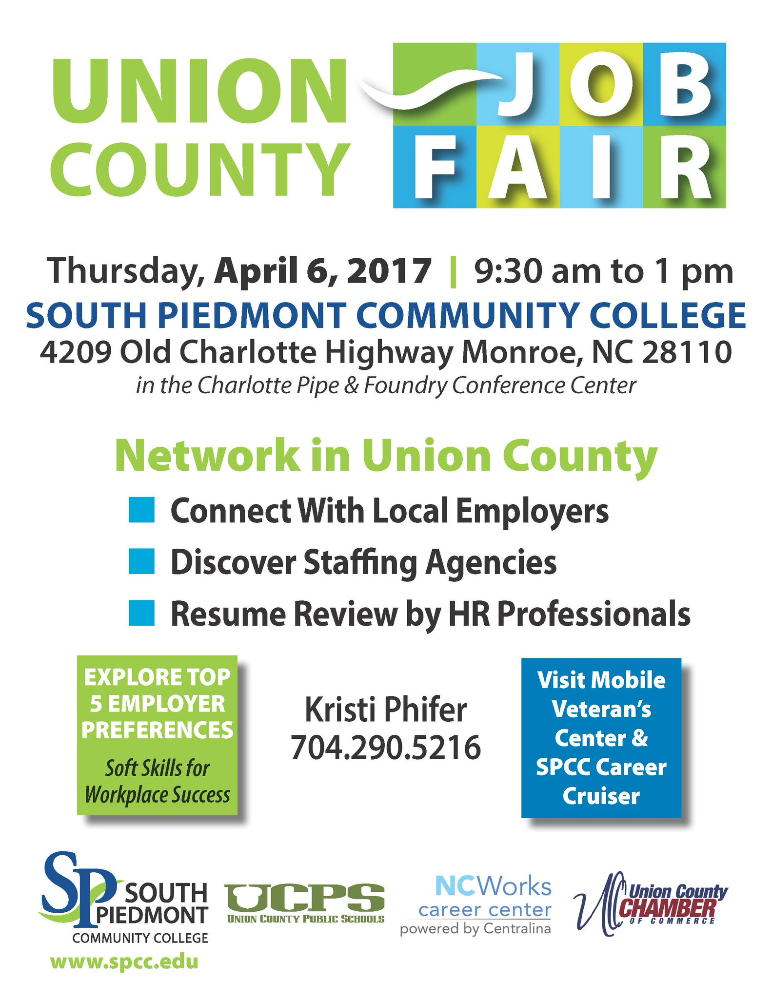 union county nc on the union county job fair will be union county nc on the union county job fair will be held at spcc on 4 6 at 9 30 am come out connect local employers including union