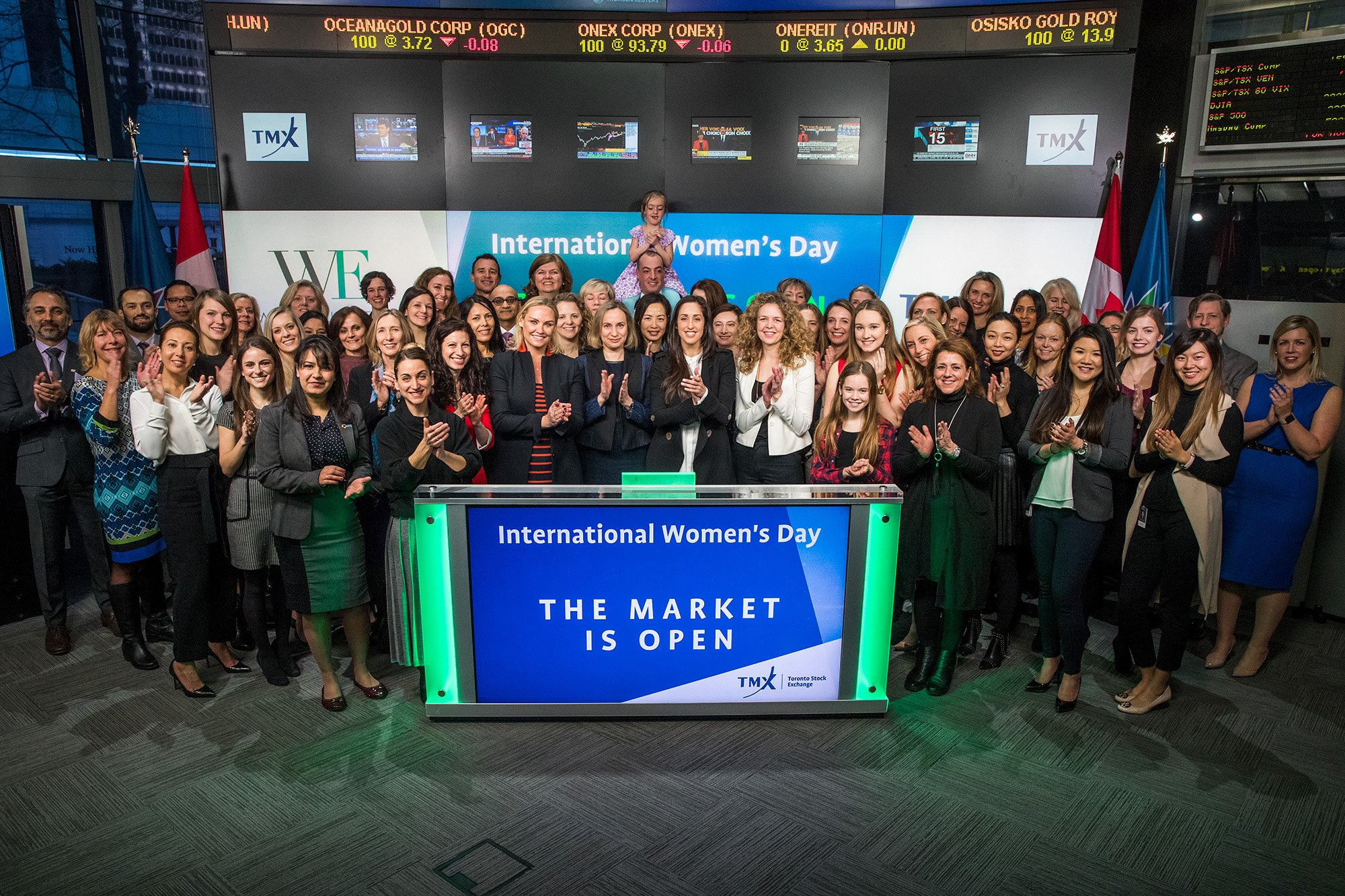 .@WomeninETFs rang the #genderbell @tsx_tsxv to celebrate #IWD2017! https://t.co/lBKAUPWHF9