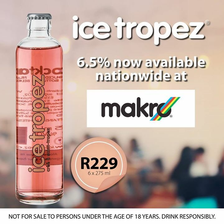 Ice tropez sa icetropezsa twitter for Ice tropez alcohol percentage