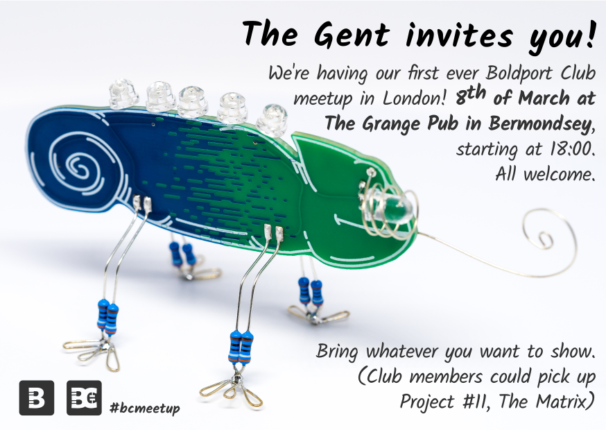Yup! RT @boldport: So who is coming? #BoldportClub #bcmeetup