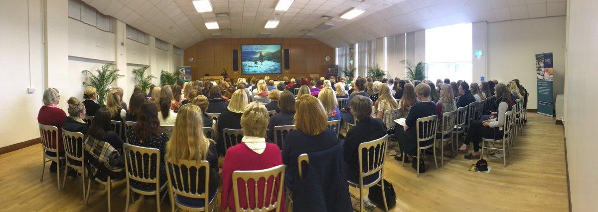 Fab morning full house for #IWD2017 @BishopBurton so inspiring! @woolismybread