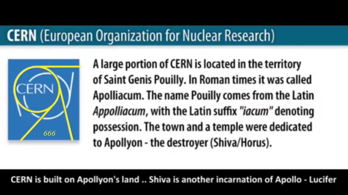 Resultado de imagen para cern built on apollo temple