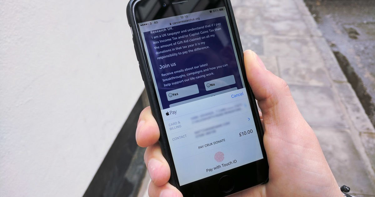 You can now use Apple Pay to donate to 22 UK charities