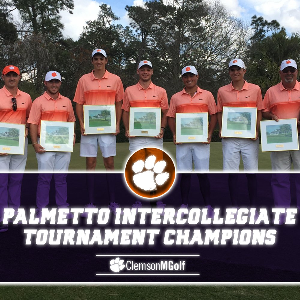 For the first time in #Clemson history... Make that three consecutive tournament victories!  📝https://t.co/md595y7WUI https://t.co/lZ76wxk8MX