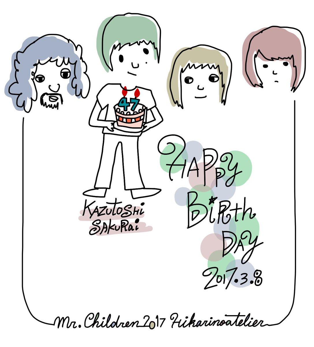 桜井さん⚽️ 47歳おめでとうございます