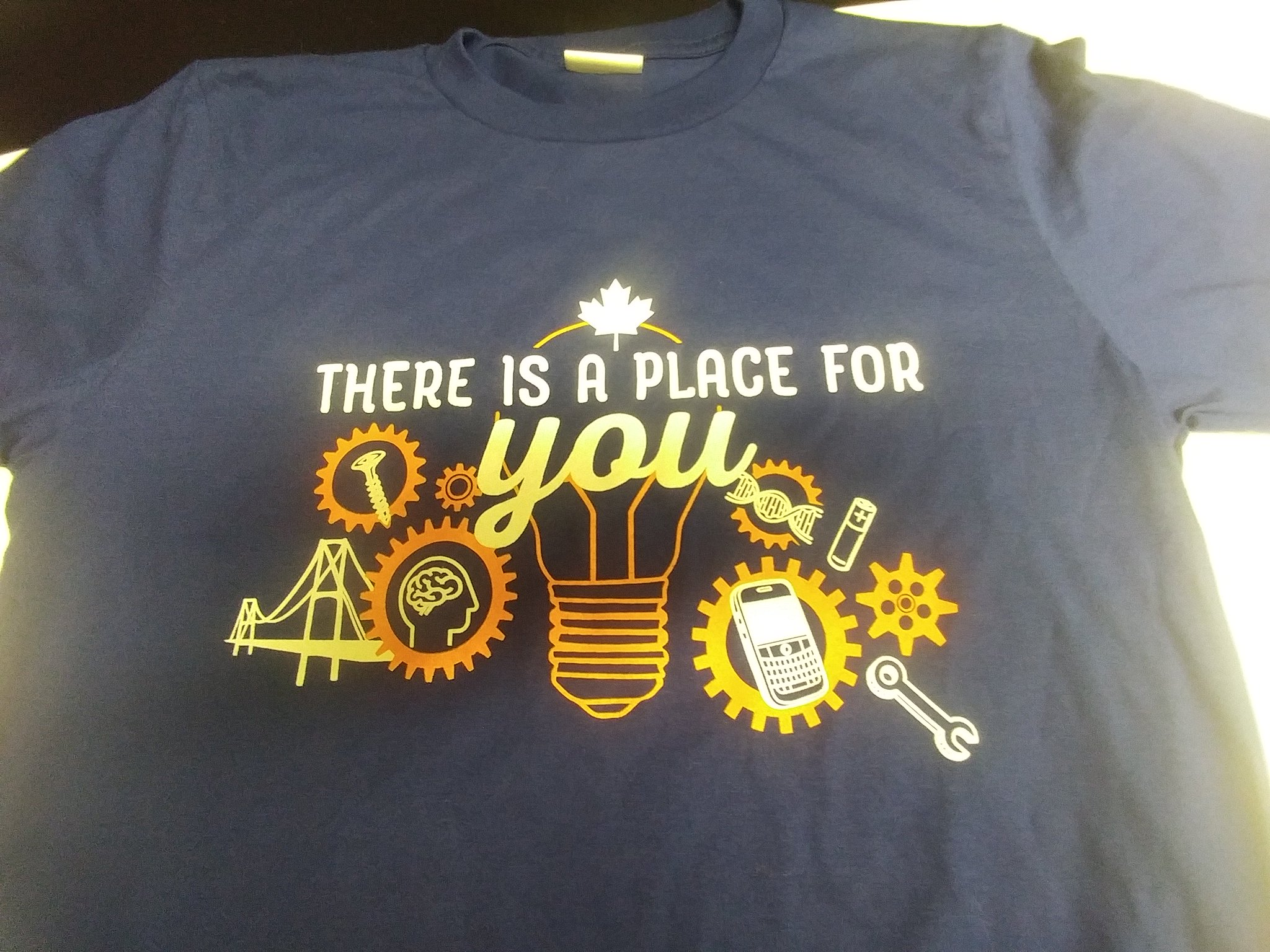 You have to be there to win one of these #NEM2017 t-shirts that look much better in person! #ChangeTheRatioWR tix: https://t.co/mgQBaj5WQD https://t.co/KszQWUcexi