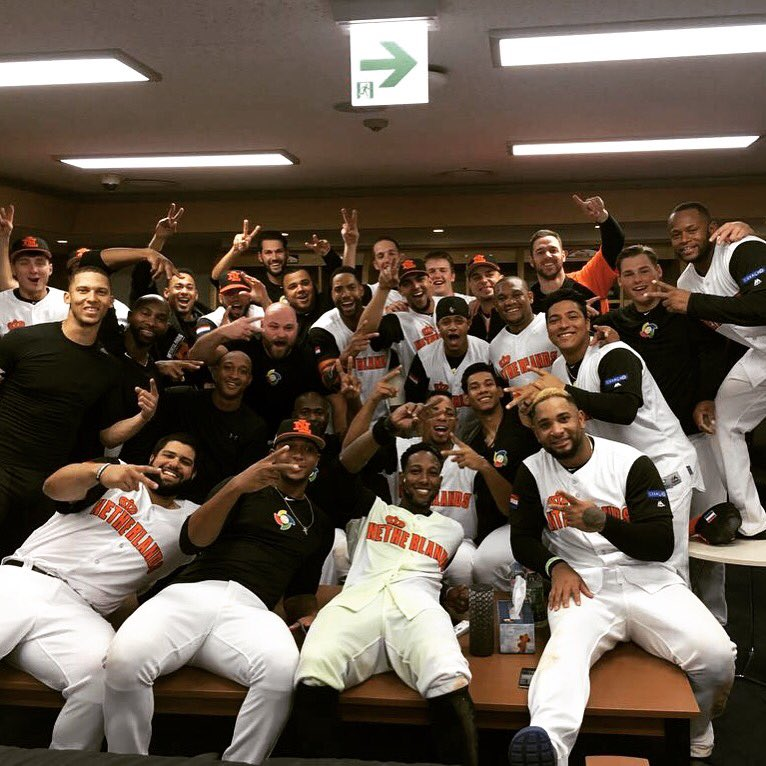 Great win tonight! Go Kingdom! 🇳🇱⚾️ https://t.co/gKP9QFEQPK