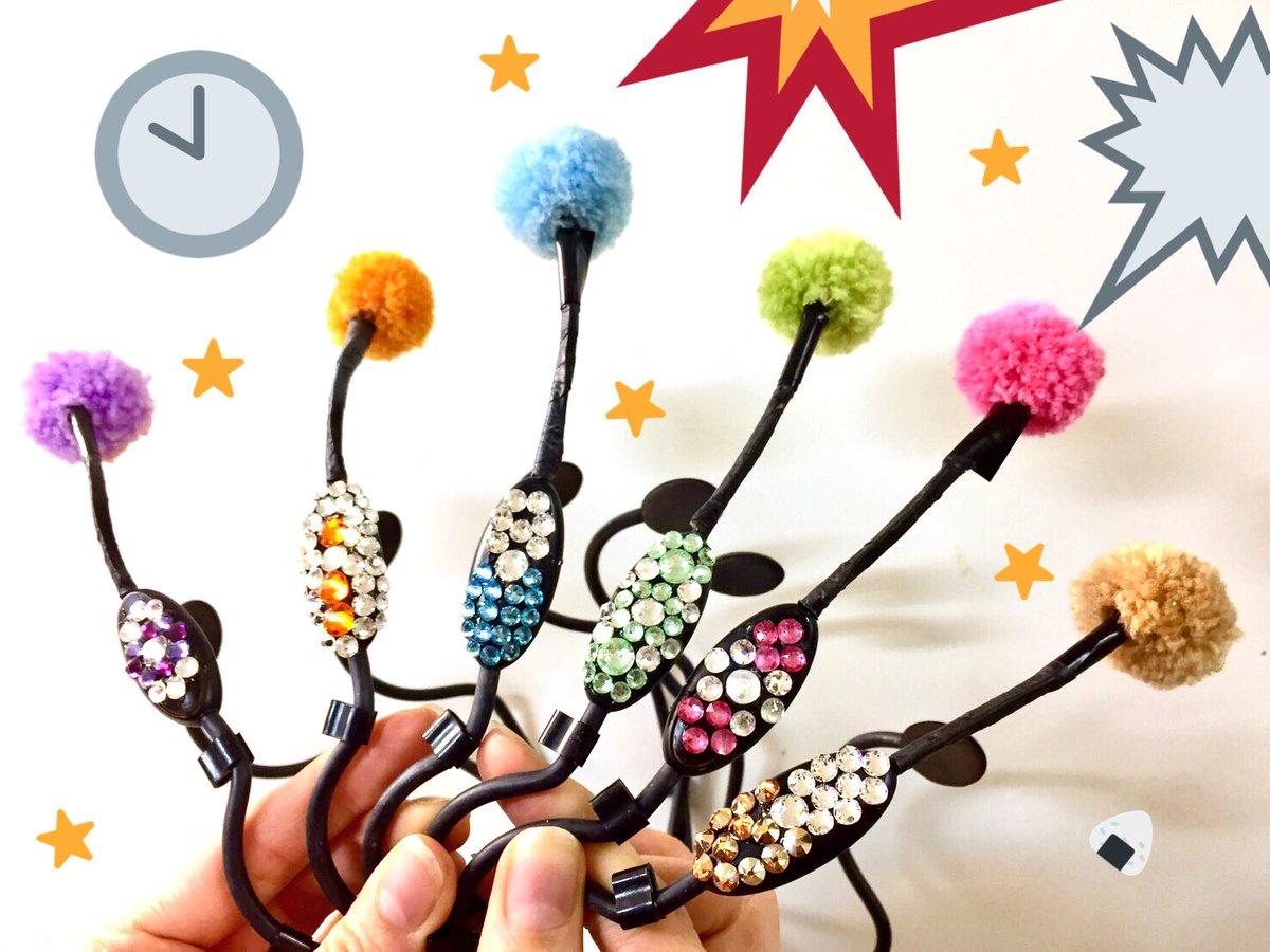 ヘッドセット装飾 新葵駆 ヨシダミホ 始春恋  西村裕司  開演前にまた更に追加されてます☆ どこ見てもほんとにキラキラです☆ 是非いろんな部分でもお楽しみください♪٩(ˊᗜˋ*) #ツキステ https://t.co/3Lki9I6WxP