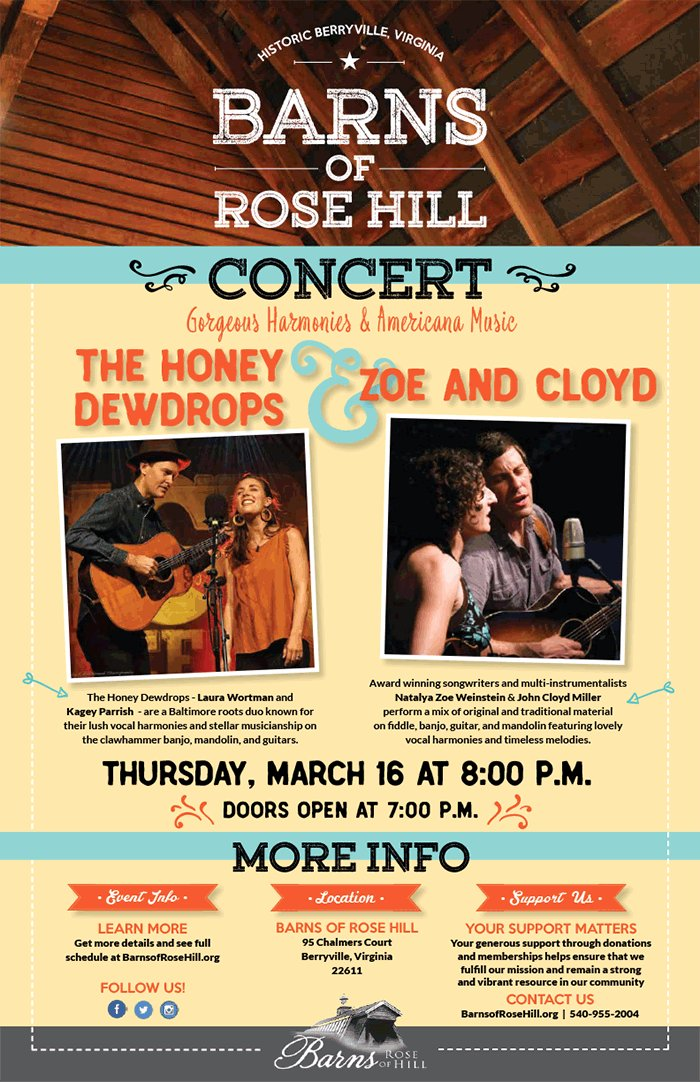 Barns Of Rose Hill On Twitter Don T Miss The Honey Dewdrops And