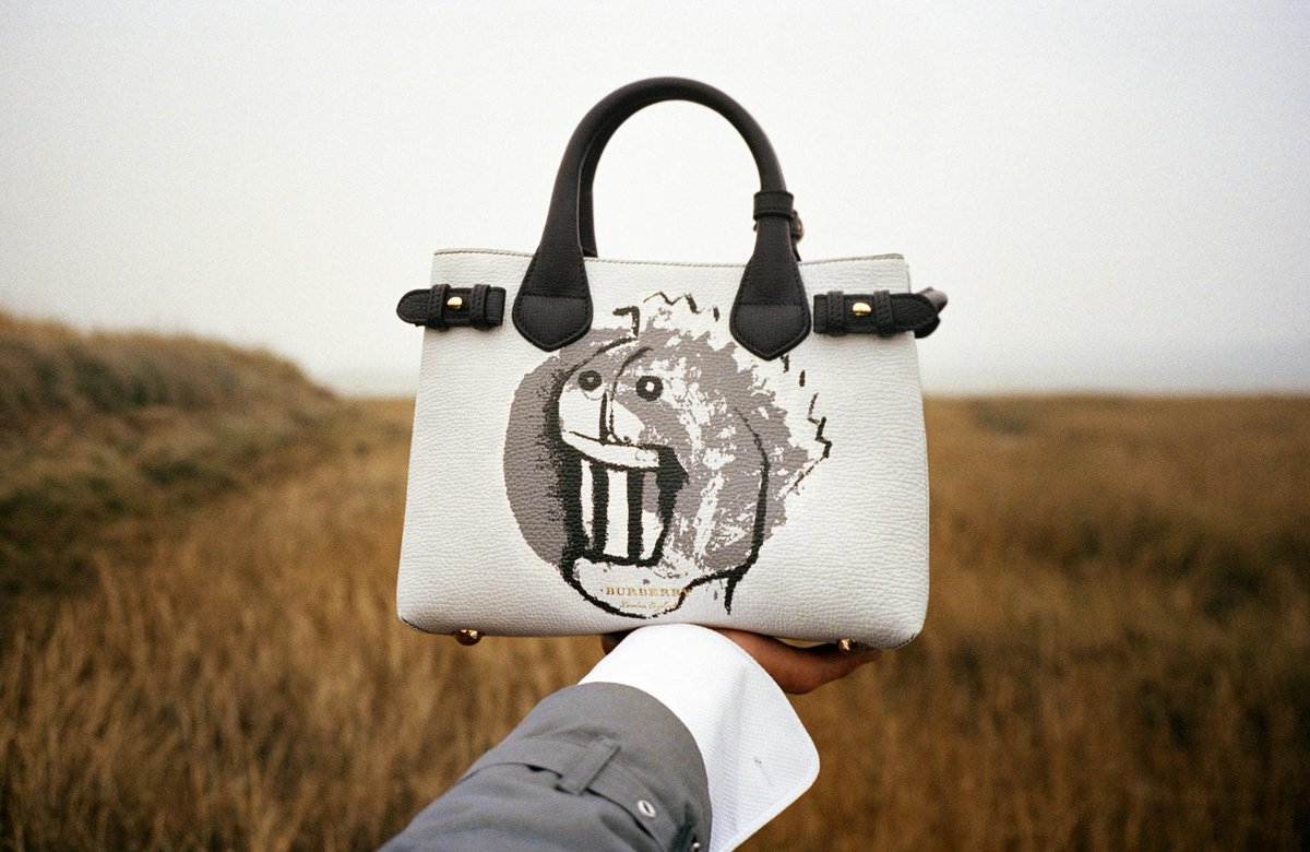 58a15b50d3e6 pick up the new burberry banner bag featuring a henry moore pallas heads  motif