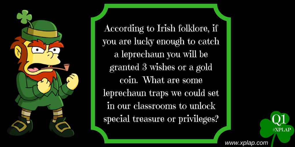 Ready to find some gold?!  Here's the first Q of the night on #XPLAP!   Join us #tlap #edchat #games4ed https://t.co/k9IIfUMNqg