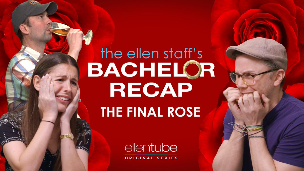 It's the finale of my staff's #Bachelor recap show! We were all thinki...