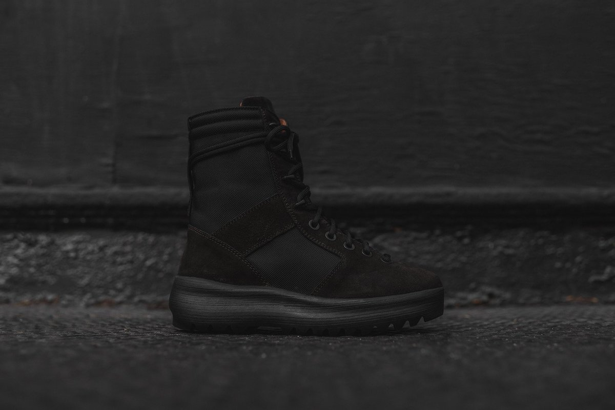 97ee413f59cb69 Yeezy Military Boot - Onyx Shade  452.00 Stock Count  Unavailable http    kith