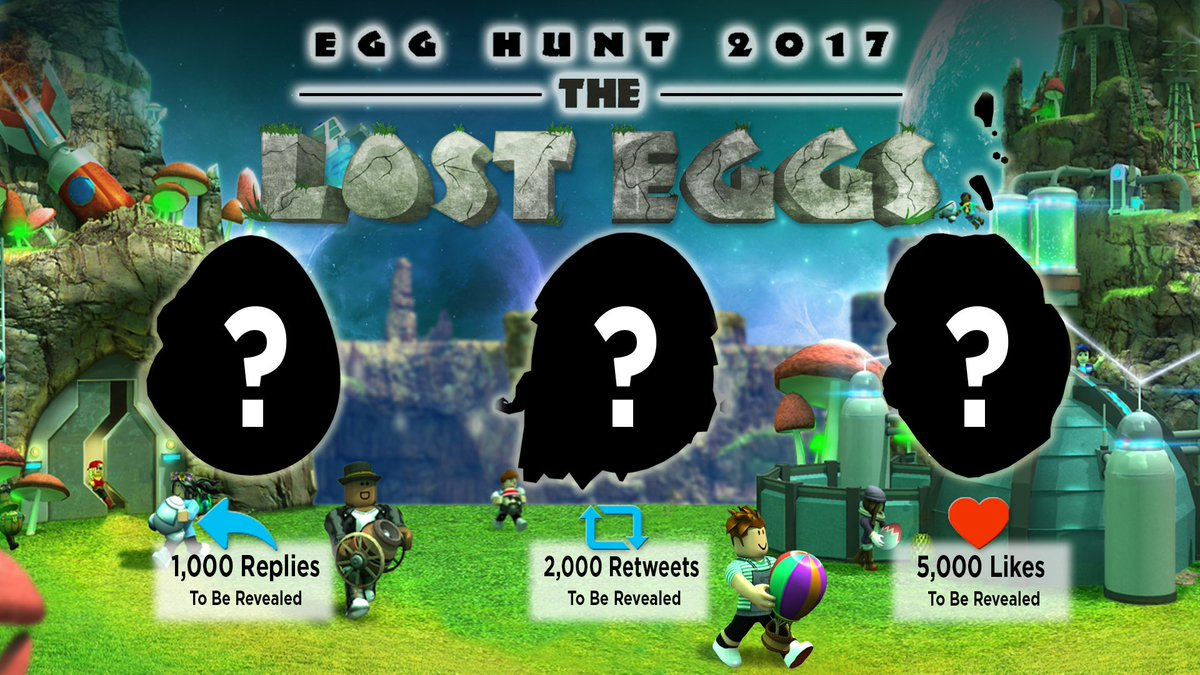 Roblox On Twitter Ready For This Years Egghunt2017 Check The