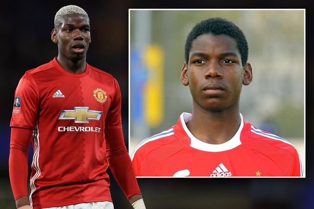Paul Pogba then and now Juan Mata wishes Manchester United