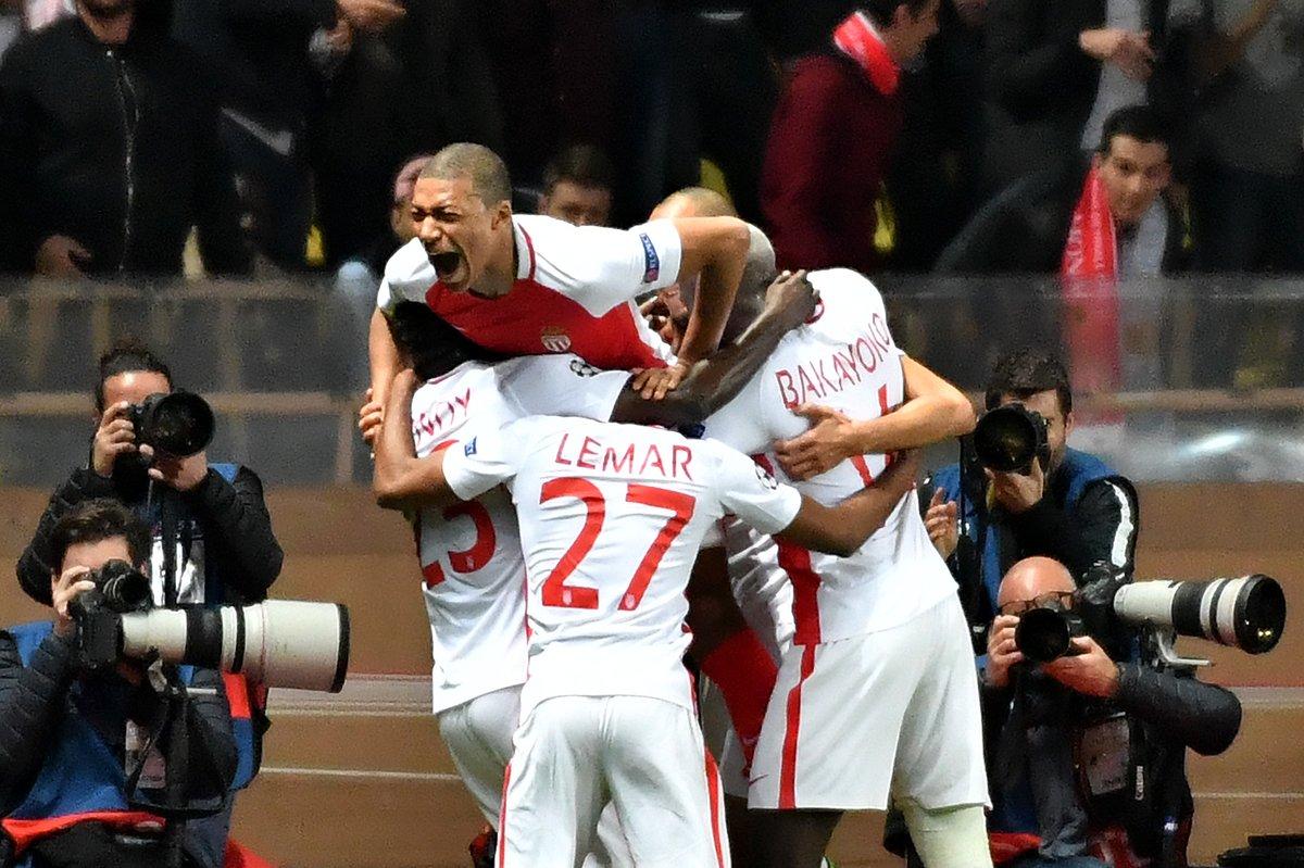 أهداف مباراة موناكو و مانشستر سيتي ( 3-1)
