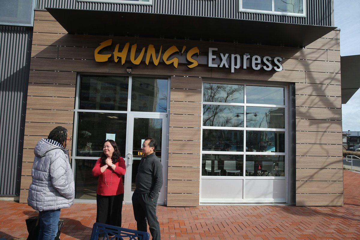 As Expected The New Chung S Express Restaurant In Downtown Bremerton Opened Today Https