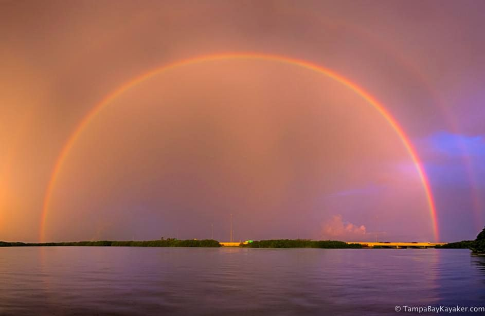 Double rainbow trouble in Tampa, Florida | Photography by ©Ronald Kotinsky <br>http://pic.twitter.com/7v9tSbWGye