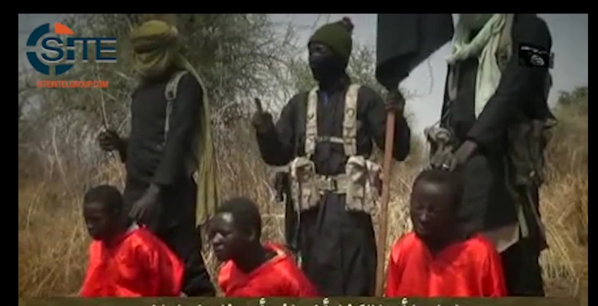 BokoHaram video show execution of 3 alleged spies for Nigerian security