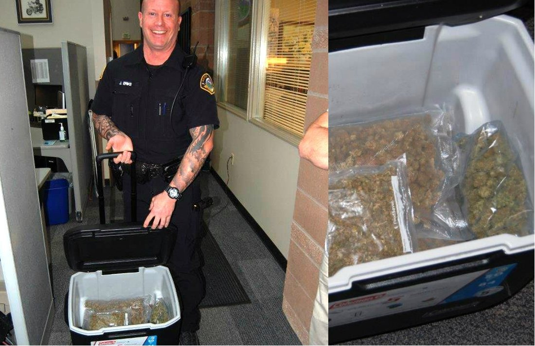 Cooler Full of Weed Donated to Goodwill