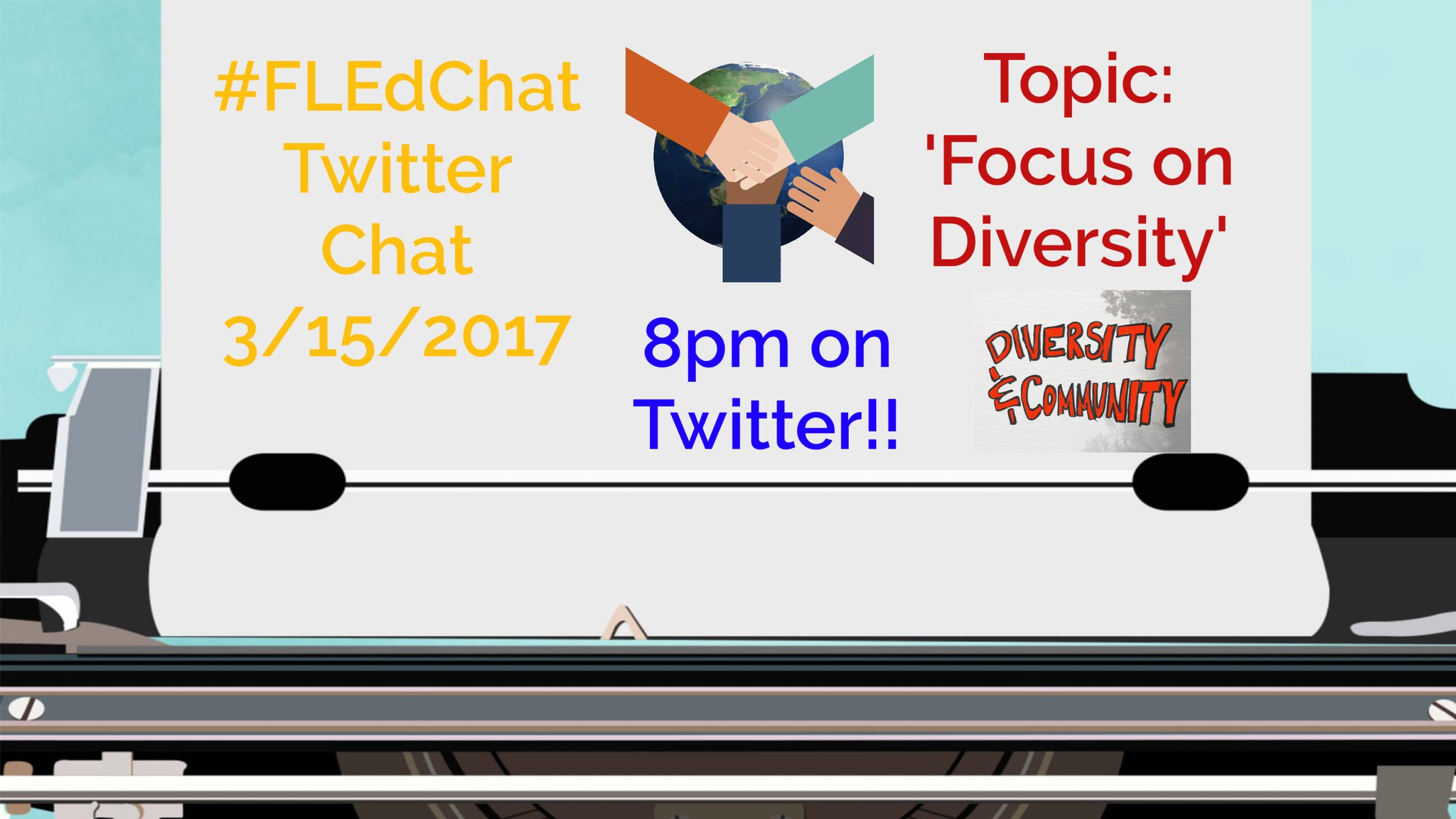 Welcome to #FLEdChat. Happy to go further with diversity tonight. Several questions ahead! Stay close! I am your honored moderator tonight! https://t.co/JtpJ0LCuyB
