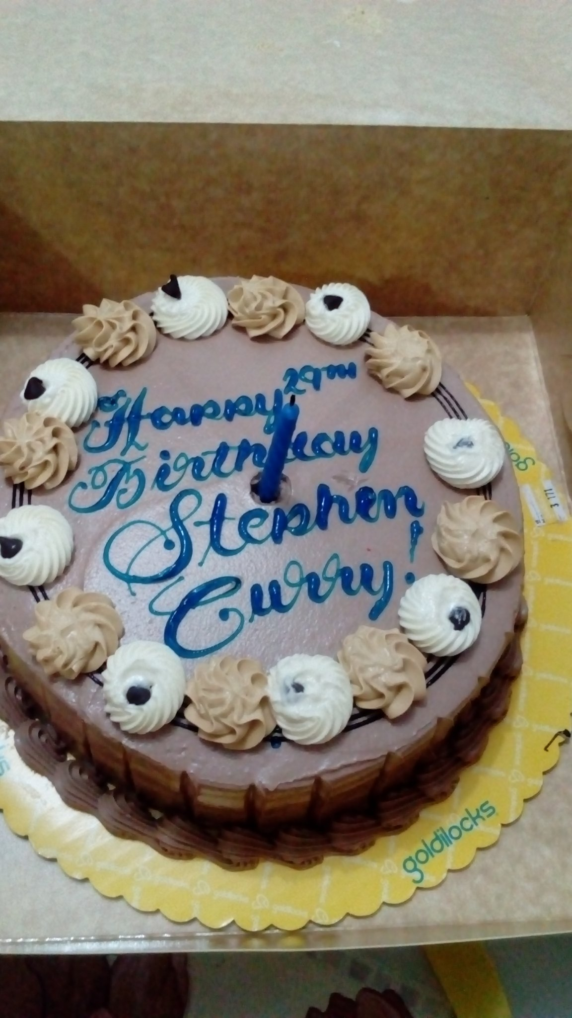 Stephen curry\bday! Happy bday Stephen! We love you !