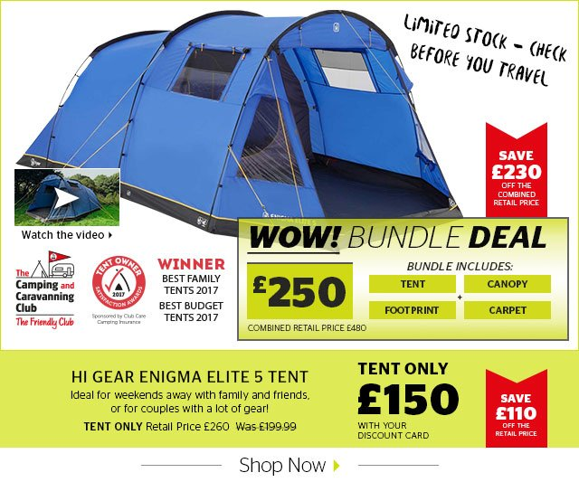 Itu0027s such a popular tent get one while you can! //m.gooutdoors.co.uk/hi-gear-enigma-elite-5-p396816 u2026pic.twitter.com/X4KrIcilQY  sc 1 st  Twitter & Go Outdoors Chatham on Twitter: