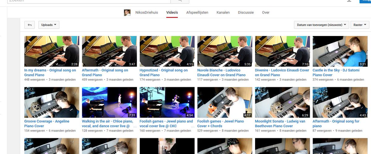 Nikos Driehuis Piano (@PianoNikos)   Twitter