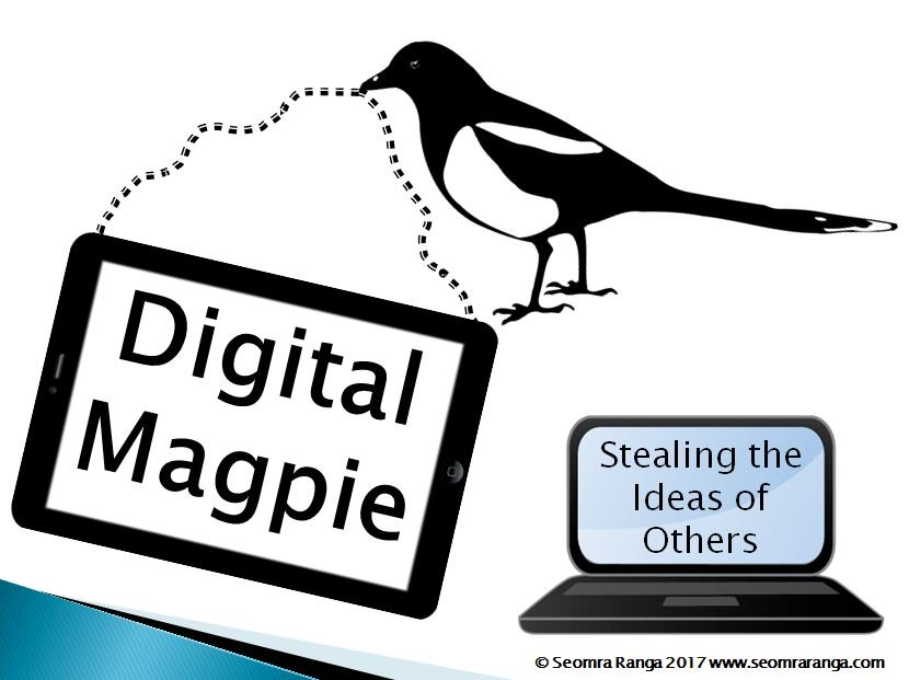 Lots of positive feedback on this during #cesicon - I feel a sequel coming on - the Return of the Magpie, Stealing More Ideas!! #edchatie https://t.co/mSOHUIu3vo