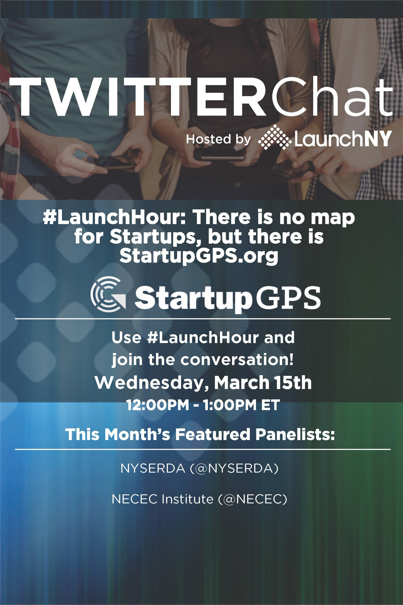 Who's planning on joining us next week for #LaunchHour at noon on 3/15? We'll be chatting about a new resource tool, https://t.co/0vBekMZ7Z3 https://t.co/BQ2zx2Rj6J
