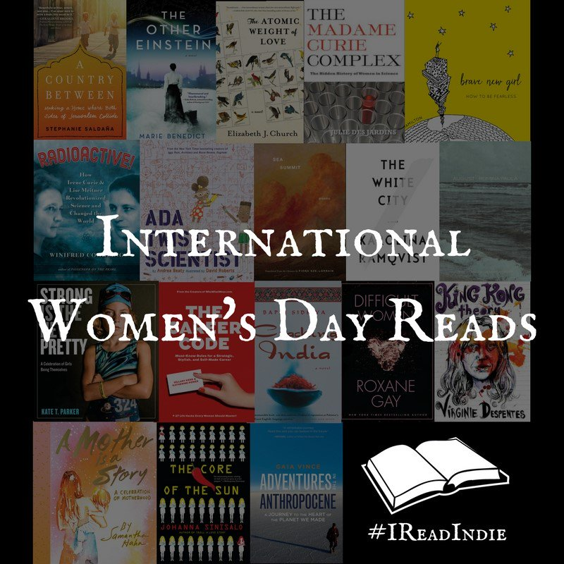 21 Books from #IReadIndie pubs, in celebration of International Women's Day #BeBoldForChange https://t.co/5JYRXXZlfC https://t.co/W3BED11wf7