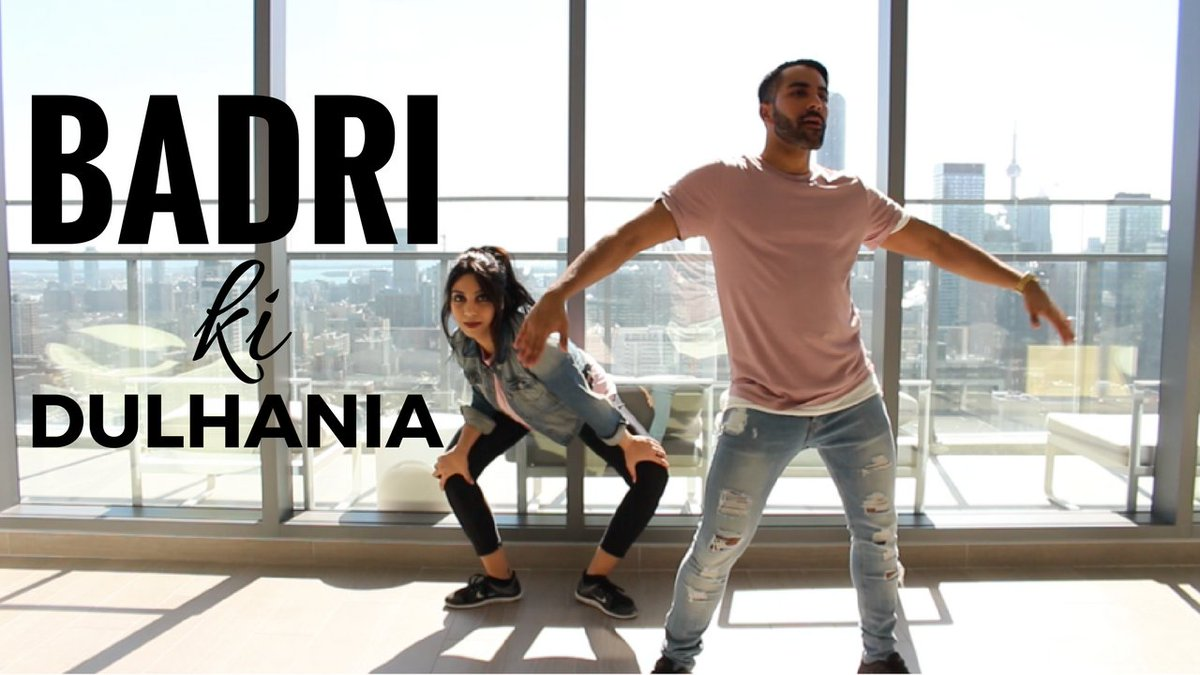 Check out my latest choreo to #badrikidulhania! https://www. youtube.com/watch?v=xAj_AW ioGRA … #dancewithSL http://pic.twitter.com/sFDLrbuNf2