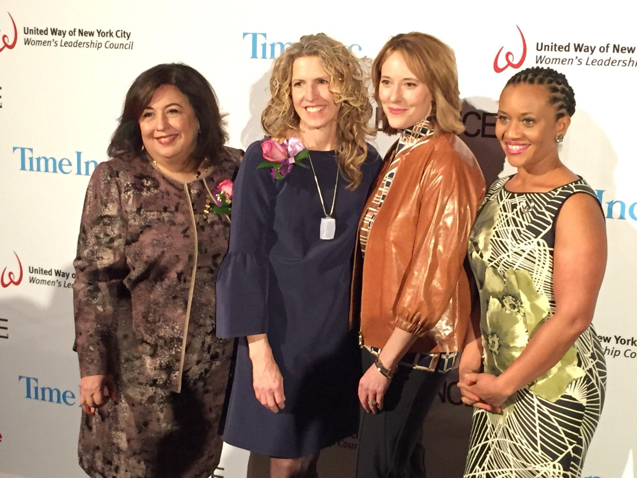 Can't wait to celebrate our 2017 #PowerofWomen honorees: Maroa Velez, Kriss Deiglmeier, & Jacki Kelley, here with @SheenaWrightNYC! https://t.co/LTscmXIo99