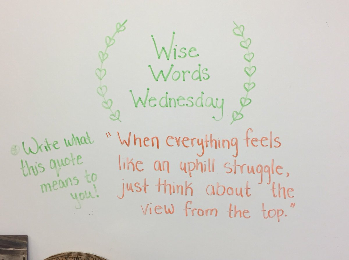 """What Does This Quote Mean Miss Donovan On Twitter """"wise Words Wednesday.what Does This"""