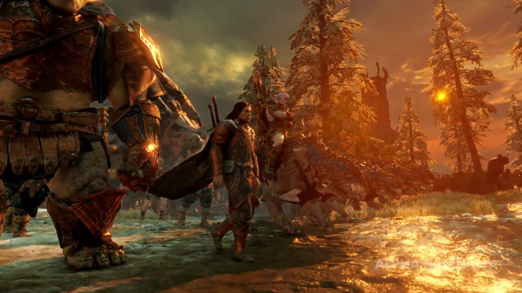 First Middle-earth: Shadow of War Gameplay Walkthrough