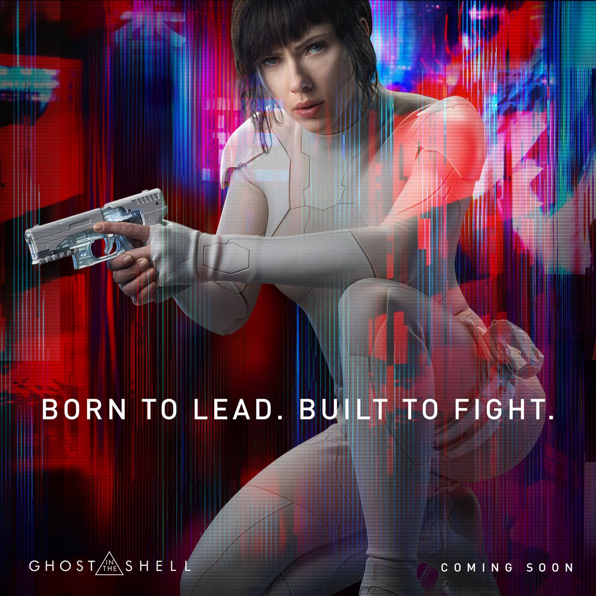 Scarlett Johansson Kicks Ass For International Women S Day In New Ghost In The Shell Promos And A Poster