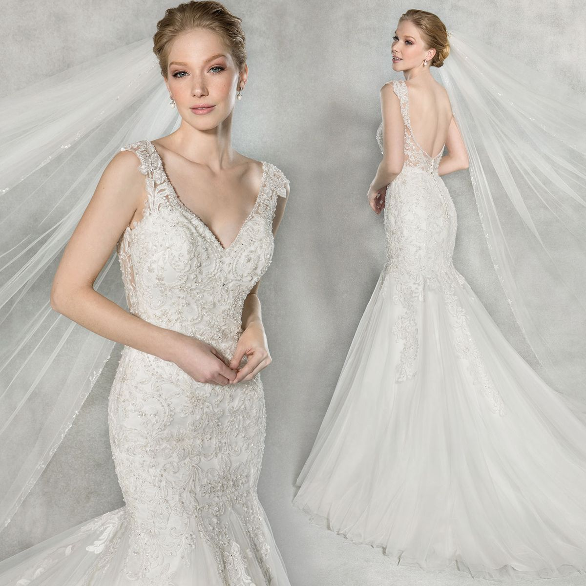 WED2B On Twitter The New Gown Bexley By Anna Sorrano Look And Feel A Million Dollars In This Dazzling Fishtail Wedding Dress