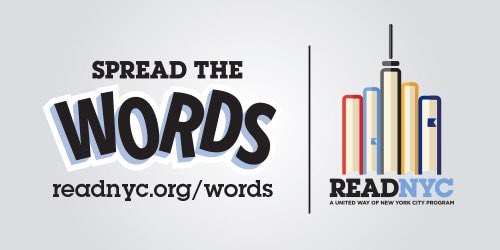 If you believe in every child's potential, jump in our #ReadNYC program's fight for #literacy: #SpreadTheWords https://t.co/7xVLec87Si https://t.co/ZchTa1GOlO